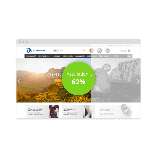 Shopsoftware - Create your own webshop now, with Gambio!